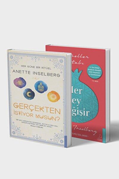 Anette Inselberg 2 Kitap Set Çanta Hediyeli