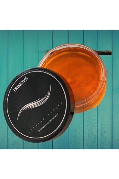Trinova Kaş Sabitleyici & Şekillendirici Wax Düzgün Kusursuz Kaşlar Için Özel Fırçalı