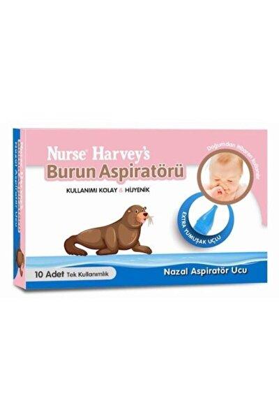 Nurse Harveys ' Burun Aspiratörü Yedek Ucu 10 Adet