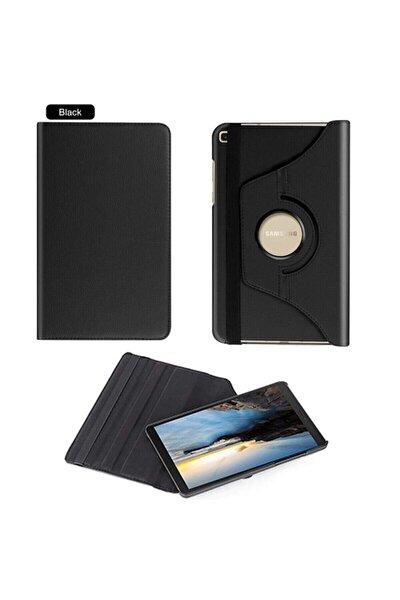 "Samsung Galaxy Tab S6 Lite Kılıf 10.4"" P610 P615 P617n 360 Dönebilen Standlı Kılıf Siyah"