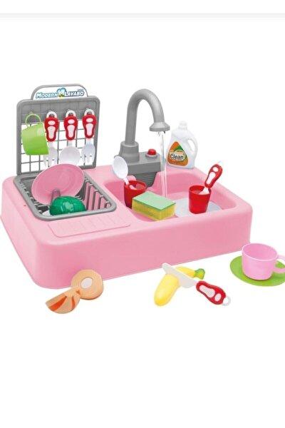 Modern Mutfak Lavabo Oyuncağı Pembe Rengi