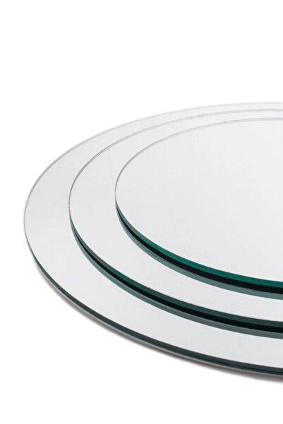 Makromeler Için Yuvarlak Kesim Kaliteli Üçlü Ayna 20cm, 25 Cm Ve 30 Cm