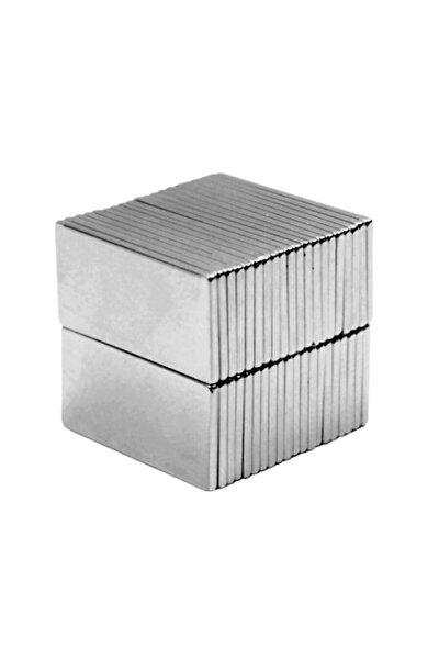 10 Adet 20mm X 10mm X 1,5mm Köşeli Süper Güçlü Neodyum Mıknatıs