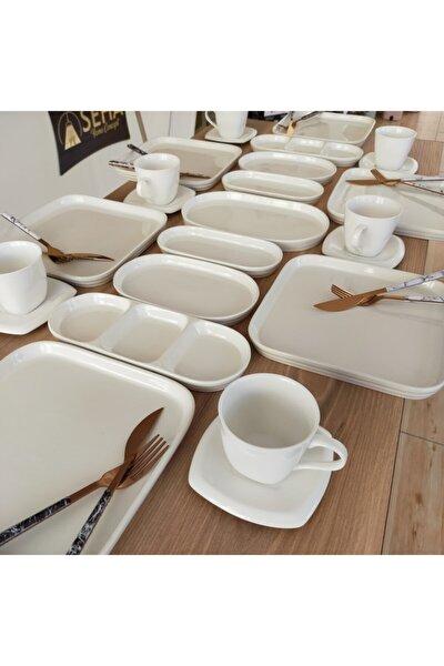Beyaz Seri Kahvaltı Takımı