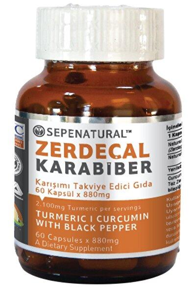 Zerdeçal Karabiber 60 Kapsül 880 mg Kurkumin Curcumin