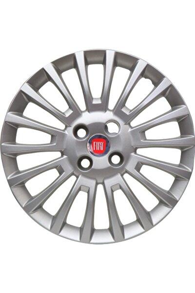 Jantest Fiat Linea 15 Inc Kırılmaz Esnek 4 Adet Jant Kapağı