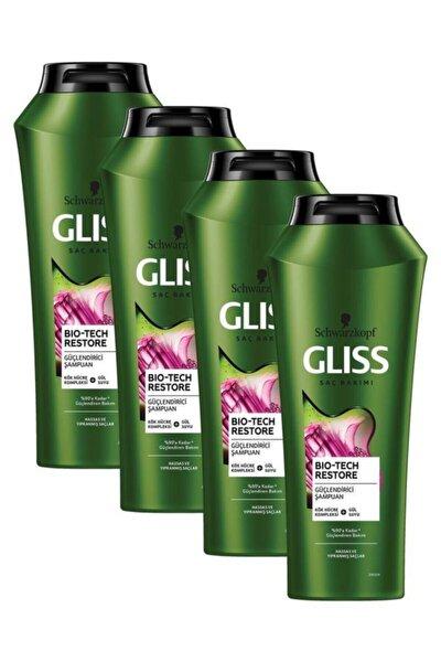 Bio-tech Güçlendirici Şampuan 500 ml 4'lü