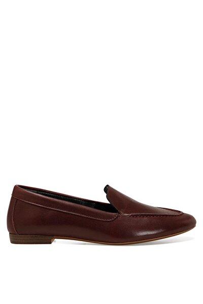 SUSHI Bordo Kadın Loafer Ayakkabı 100582253