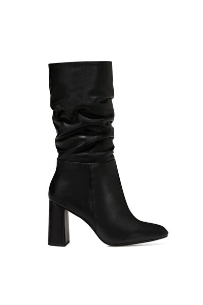 UMBRIA Siyah Kadın Ökçeli Çizme 100582154