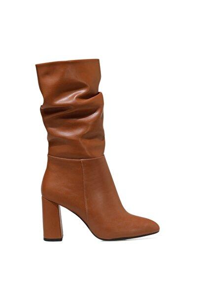 UMBRIA Taba Kadın Ökçeli Çizme 100582155