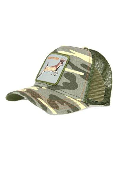 Unisex Yeşil Buck Fever Goorın Bros Anımal Farm Şapka