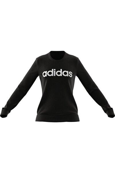 Kadın Siyah Beyaz W Lın Ft  Spor Sweatshirt