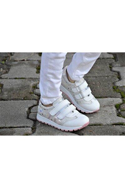 Kız Çocuk Hakiki Deri Günlük Ayakkabı