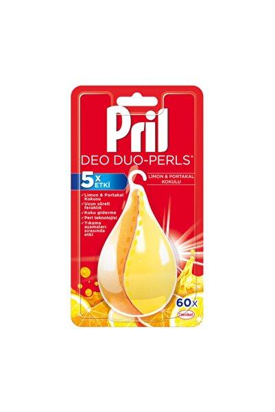 Deo Perls Bulaşık Makinesi Koku Giderici Limon Ve Portakal Kokulu 60 Yıkama