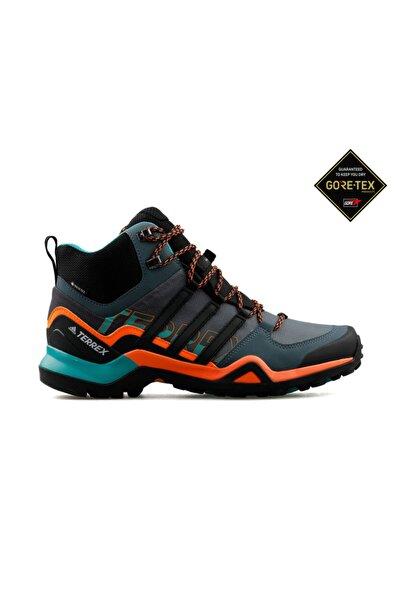 Gri Erkek Trekking Bot Ve Ayakkabısı Fv6840 Terrex Swift R2 Mid Gtx