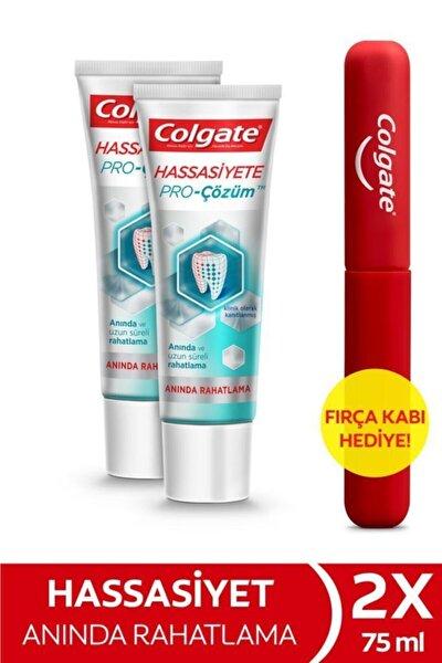 Hassasiyete Pro Çözüm Anında Rahatlama Diş Macunu 2 X 75 ml + Diş Fırçası Kabı Hediye