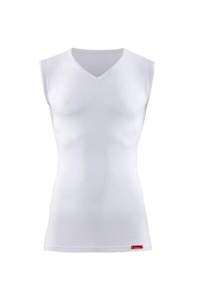 Unisex Termal 2. Seviye T-shirt 9243-beyaz