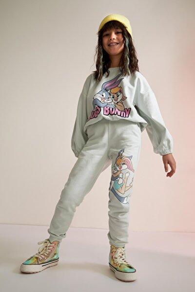Kız Çocuk Bugs Bunny Lisanslı Jogger Eşofman Altı T5323A621SP