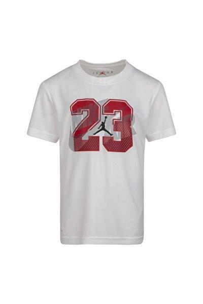 Unisex Çocuk Beyaz Jordan Splıt Decısıon Tee T-shirt 85A427-001