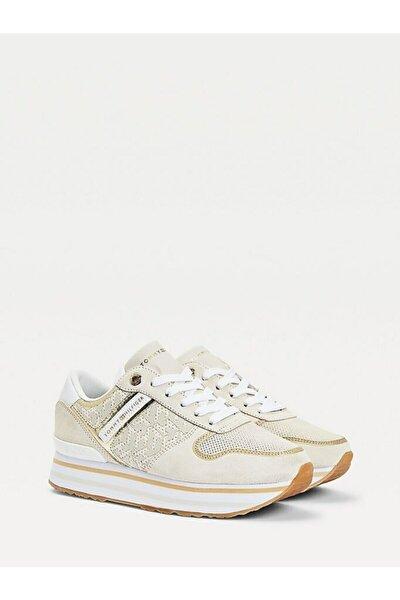 Th Metalik Flatform Sneaker