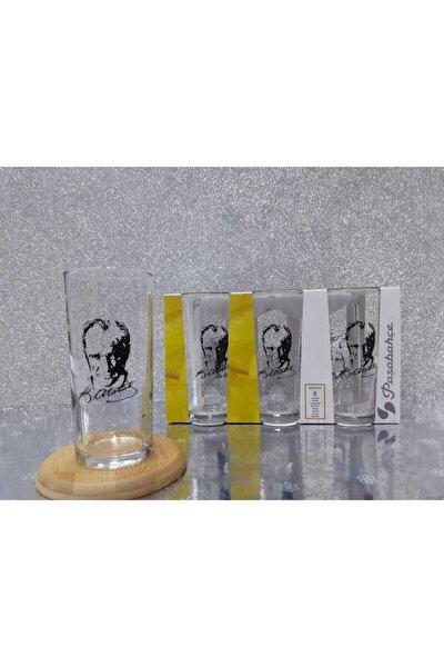 Paşabahçe Içelim Rakı Bardağı 6 Lı Atatürk Model