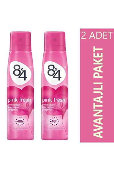 Deodorant Pınk Fresh Sprey Deodorant 150ml Kadın - 2 Adet Avantajlı Paket