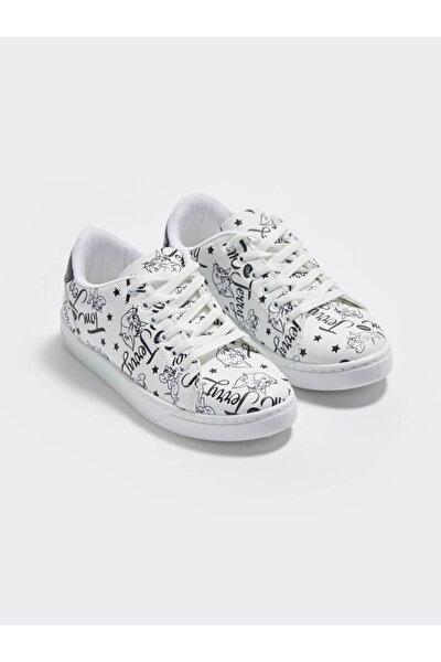 Tom&Jerry Kadın Beyaz J5E Sneaker