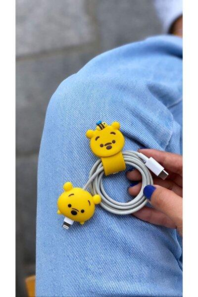 Sevimli Kablo Toparlayıcı Ve Koruyucu Ayıcık
