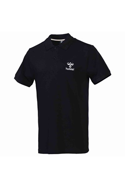 HMLLEON POLO T-SHIRT S/S Siyah Erkek T-Shirt 101086233