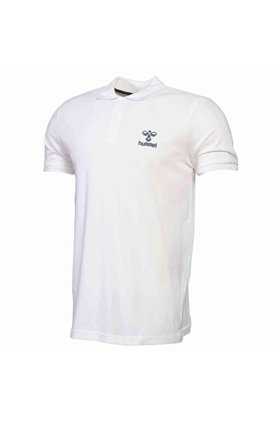 HMLLEON POLO T-SHIRT S/S Beyaz Erkek T-Shirt 101086238