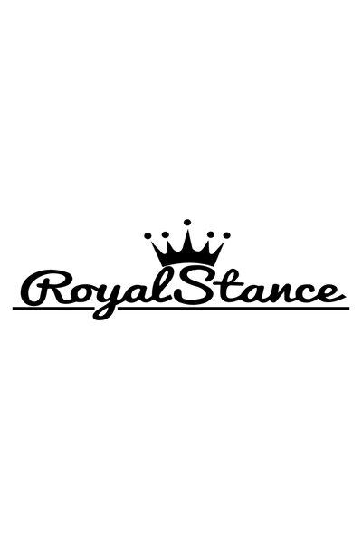 40 cm Siyah Royal Stance Oto Araba Sticker