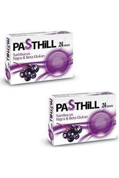 Pasthill Sambucus Nigra & Beta Glukan 24 Drops 2 Kutu