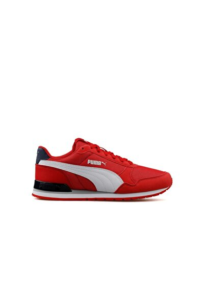 Erkek Kırmızı St Runner V2 Mesh Jr A Günlük Ayakkabı - 36713515