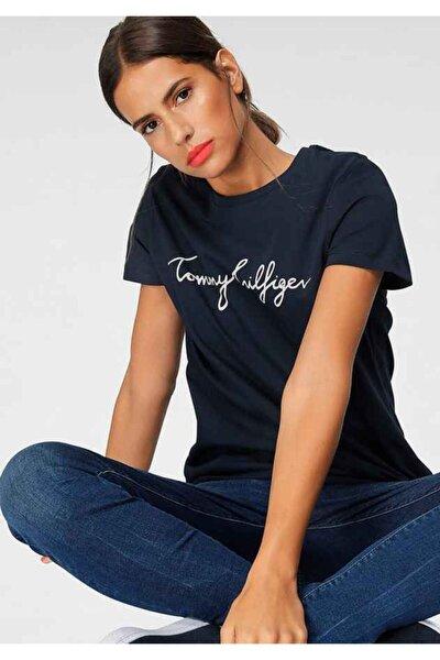 Kadın Siyah Kısa Kollu  Tshirt