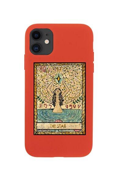 Iphone 11 Uyumlu  The Star Premium Kırmızı Lansman Silikonlu Kılıf