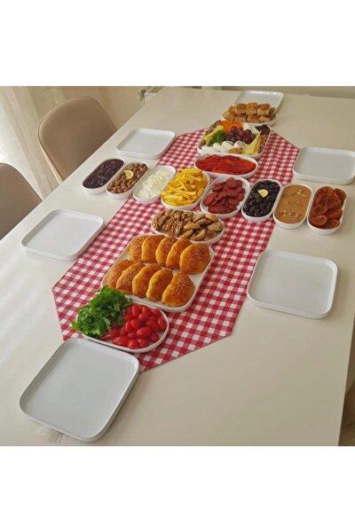 Atabeyhome Sera 6 Kişilik 20 Parça Seramik Kahvaltı Takımı