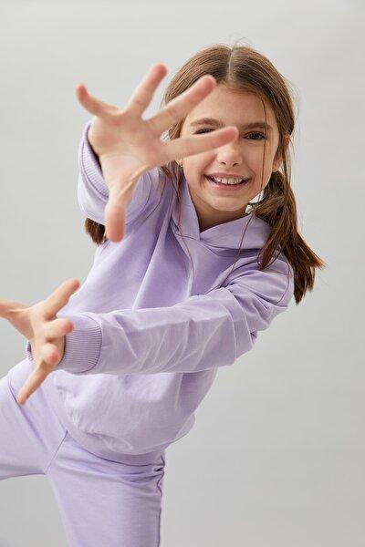 Kız Çocuk Organik Pamuk Alt Üst Eşofman Takım