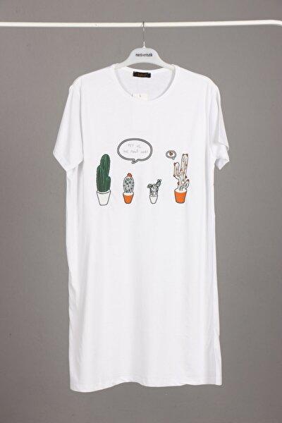 Uzun T-tshirt-tesettür Içlik