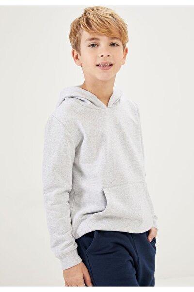 Erkek Çocuk Kanguru Cepli Sweatshirt
