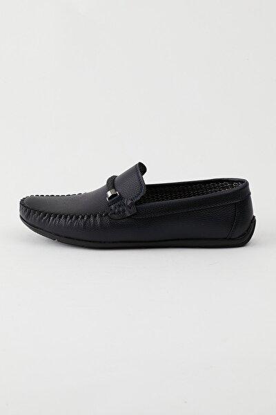 Lacivert Erkek Loafer Ayakkabı Tb103