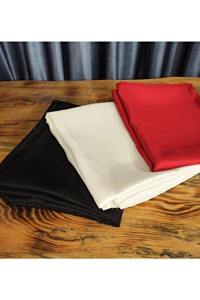 Masa Örtüsü Leke Tutmaz Kumaş Tek 160x220 cm Siyah