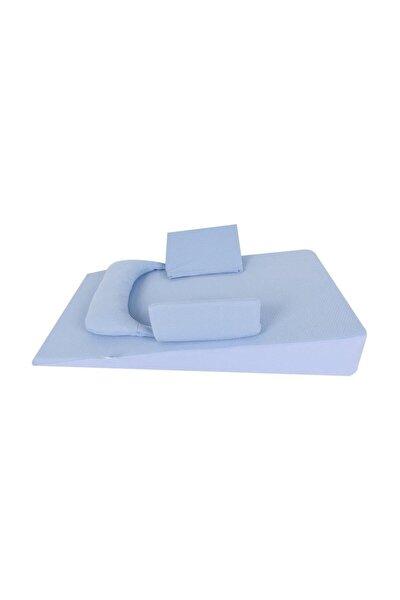 Bebek Reflü Yatağı Mavi /