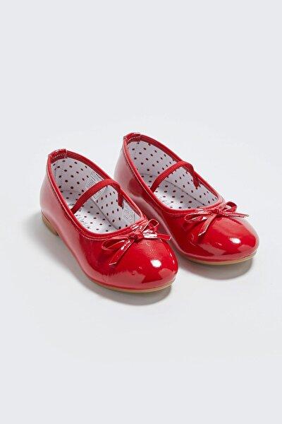 Kız Çocuk Kırmızı Crt Babet