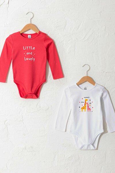 Kız Bebek Narçiçeği H3S Bebek Body & Zıbın