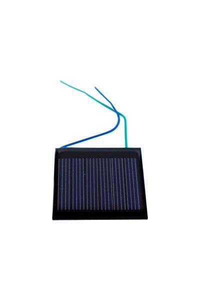 Küçük Mini Güneş Paneli 4cmx4cm 3 Volt 0,1amper + Ve - Uç Kablolu