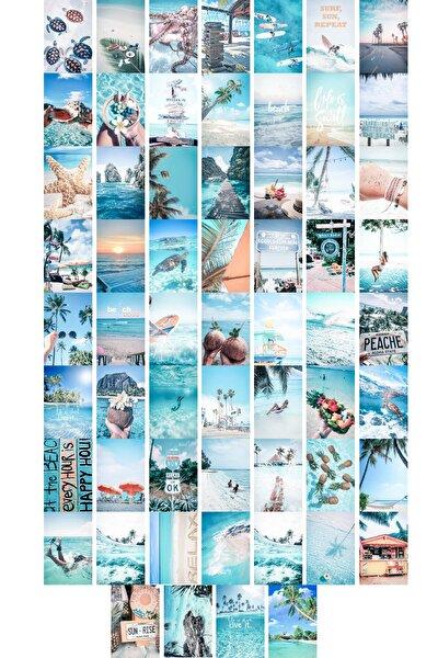 Deniz Duvar Posteri Kolaj Seti - 60 Adet - 10cm*15cm