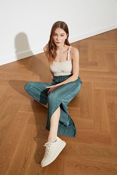 Yeşil Örme Pantolon TWOSS21PL0211