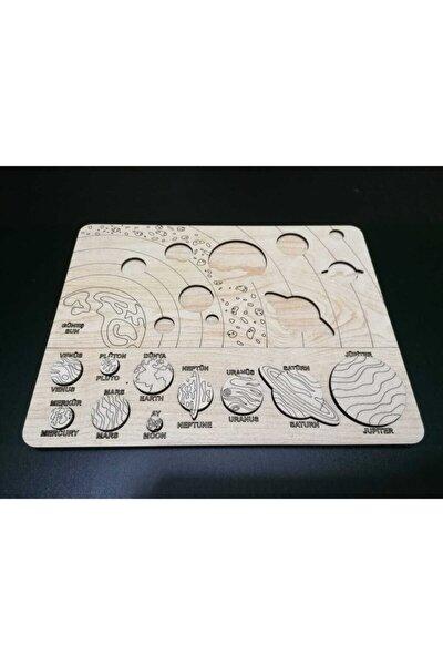 Eğitici Çocuk Oyuncakları Güneş Sistemi Puzzle