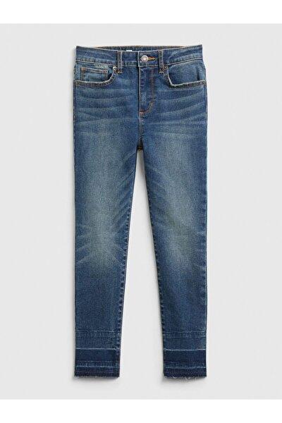 Kız Çocuk High Rise Ankle Jegging Jean Pantolon