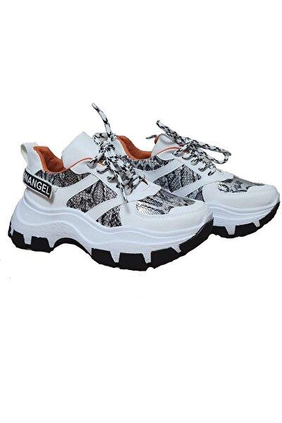 Kadın Kalın Taban Spor Ayakkabı Carlo